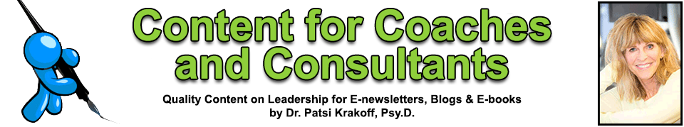 Content for Coaches and Consultants